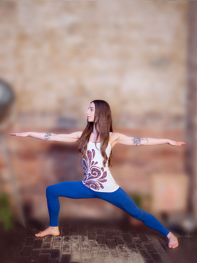 Mixed Marvel Yoga Leggings Blue