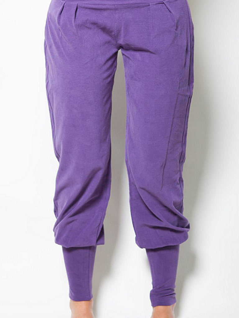 Dakini Organic Yoga Pants - Purple Rain - Urban Goddess - £55.47