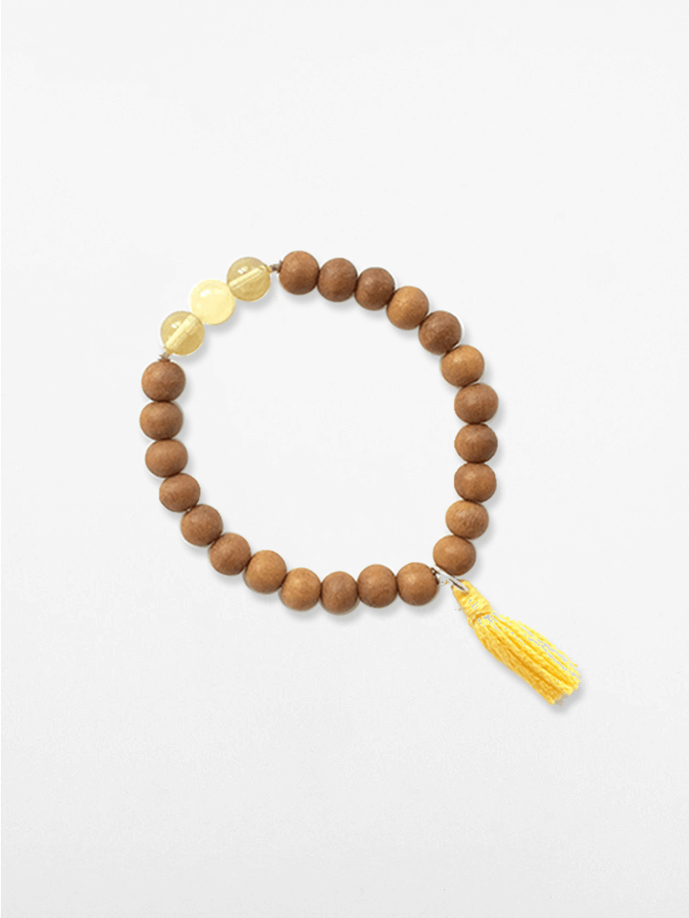 Kid's Mala Bracelet - Yellow
