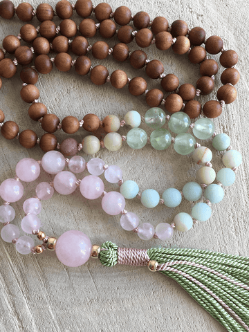 Love and Hope Mala Necklace