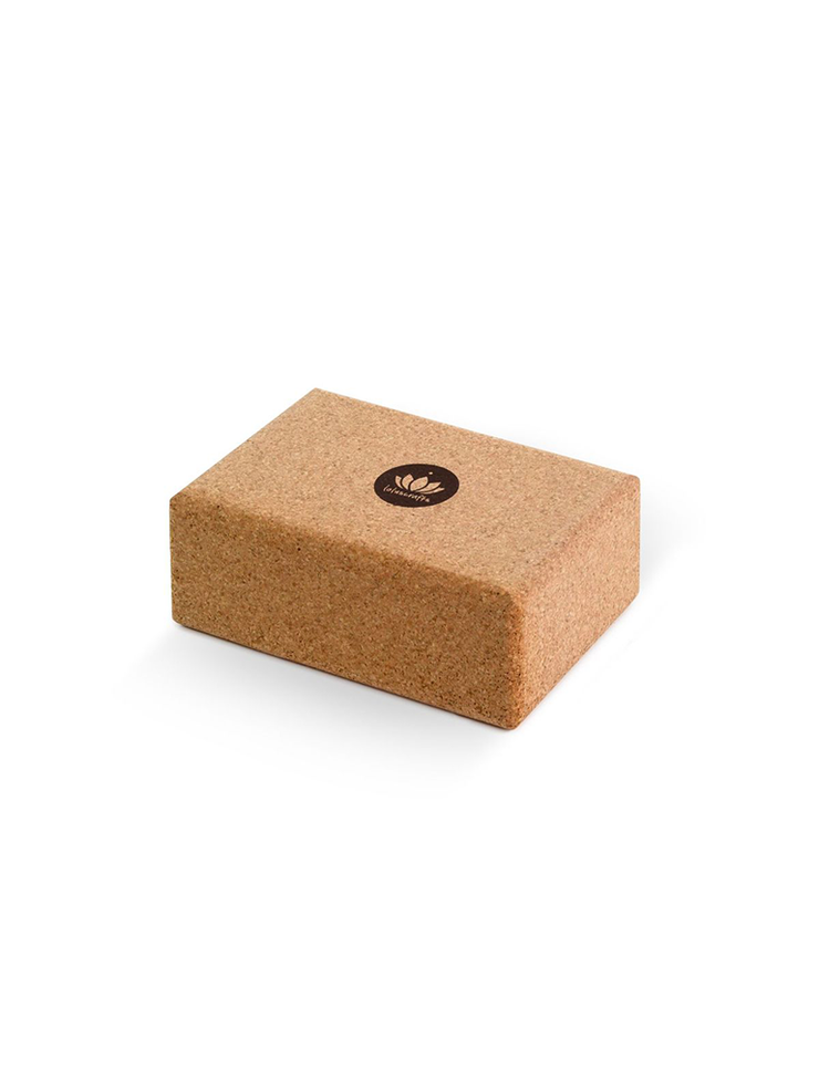 Small Cork Yoga Brick - Lotuscrafts - £16.95