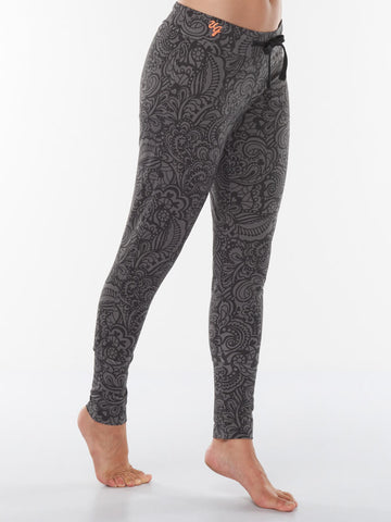 Life is a Dance Yoga Pants Anjali - Volcanic Glass - Urban Goddess - £69.95