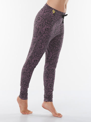 Life is a Dance Yoga Pants Anjali - Jungle Orchid