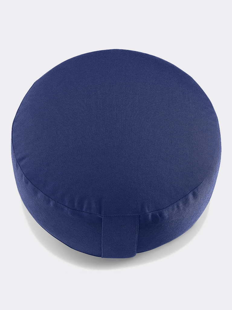 "Meditation Cushion ""Lotus"" NO EMBROIDERY (15 cm) - Royal Blue"