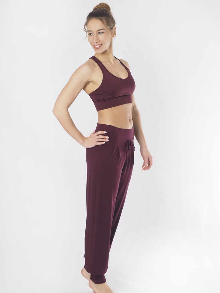 Padmini Yoga Pant - Mystic Red - KISMET - £89.90