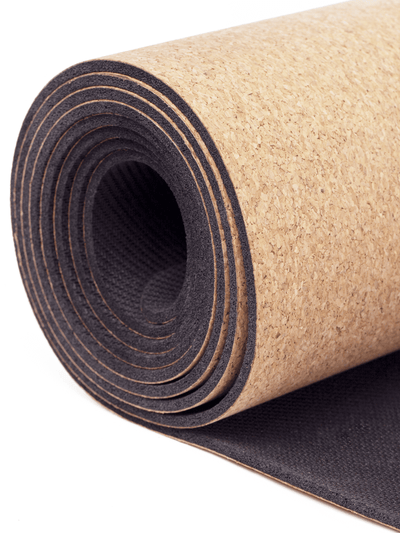 Eco Cork Yoga Mat - YogaClicks - £74.95