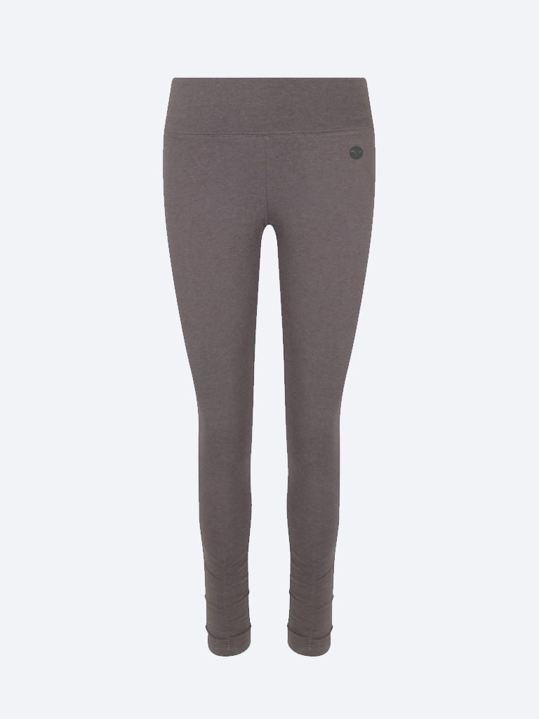 Ruched Bottom Leggings Charcoal - chaYkra - £36.00