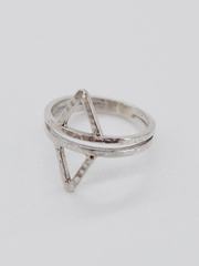 Ignite and Flow Ring - Recycled Sterling Silver