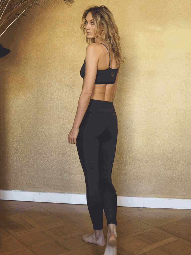 Yoga Shape Leggings Lakshmi - Anthracite