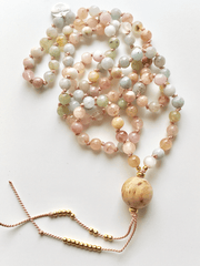 AnnakaTaika Mala necklaces One Size / Multi Harmony Within Mala Necklace