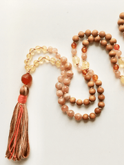 AnnakaTaika Mala necklaces One Size / Orange Success Mala Necklace