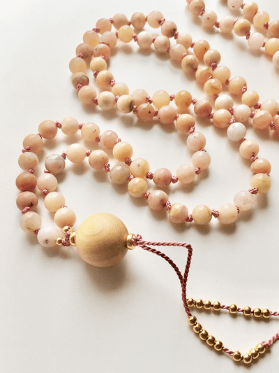 AnnakaTaika Mala necklaces One Size / Pink Divine Love Mala Necklace