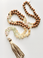 AnnakaTaika Mala necklaces One Size / Yellow Vitality Mala Necklace