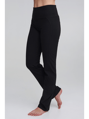 Live Fast Bamboo Pants - Black - Asquith - £59.00