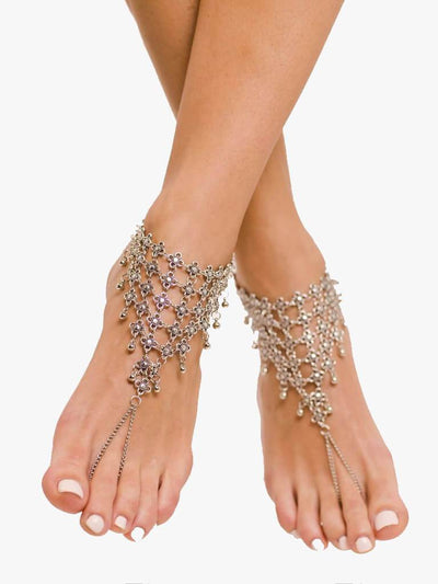 Bare Sandals Foot jewellery Calia Barefoot Sandals Foot Jewellery