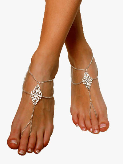 Bare Sandals Foot jewellery Jolie Barefoot Sandals Foot Jewellery