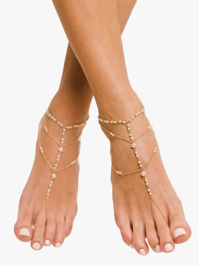 Bare Sandals Foot jewellery Malina Barefoot Sandals Foot Jewellery