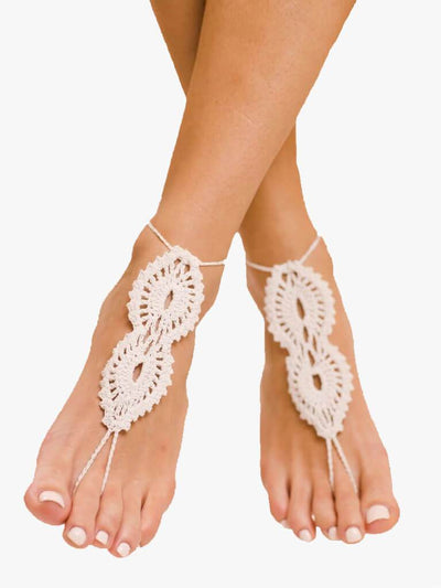 Bare Sandals Foot jewellery Maya Barefoot Sandals Foot Jewellery