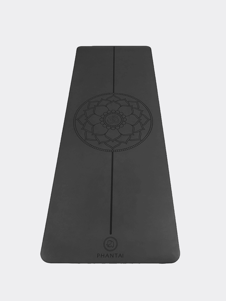 Mandala Yoga Mat - Grey - Phantai - £80.00