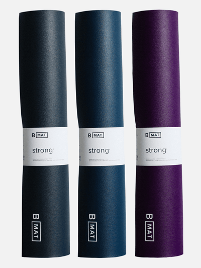 B Mat Strong – 6mm Yoga Mat Non Slip Eco Friendly Contemporary Design - BYoga - £90.00