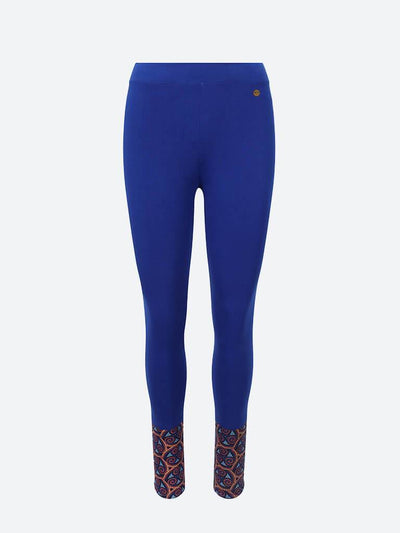 Adorned Ankle Leggings - chaYkra - £24.00