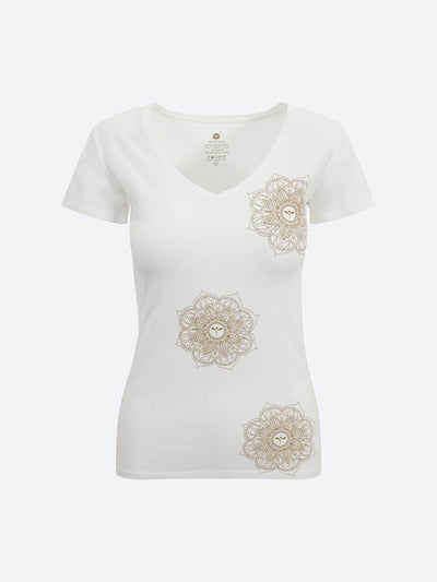 chaYkra T-Shirts Indian Motif Tee