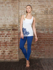 chaYkra Tanks Splash Sensation Yoga Tank Top