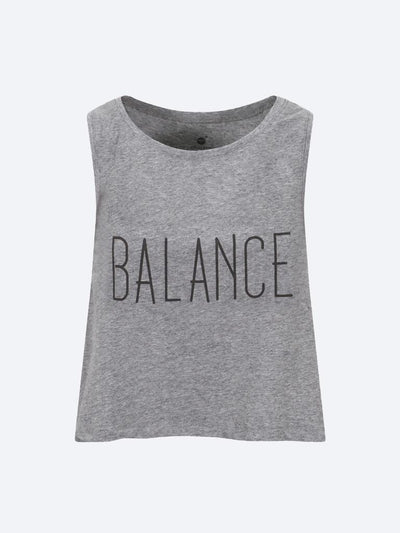 chaYkra Tanks Steady Balance Crop Top