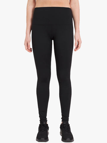 High Waisted Classic Yoga Leggings - Black