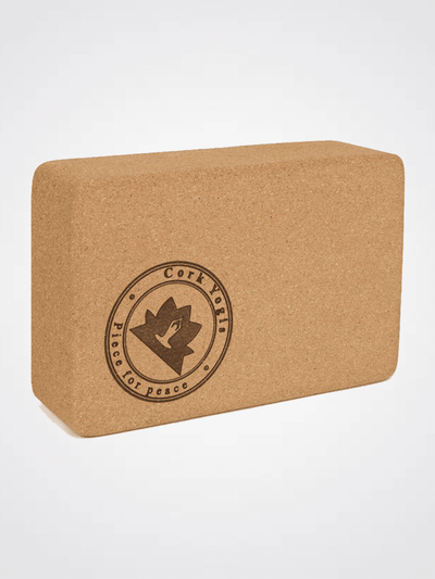 Cork Yogis Yoga Blocks & Bricks The Balanced Yogi - Cork Yoga Brick