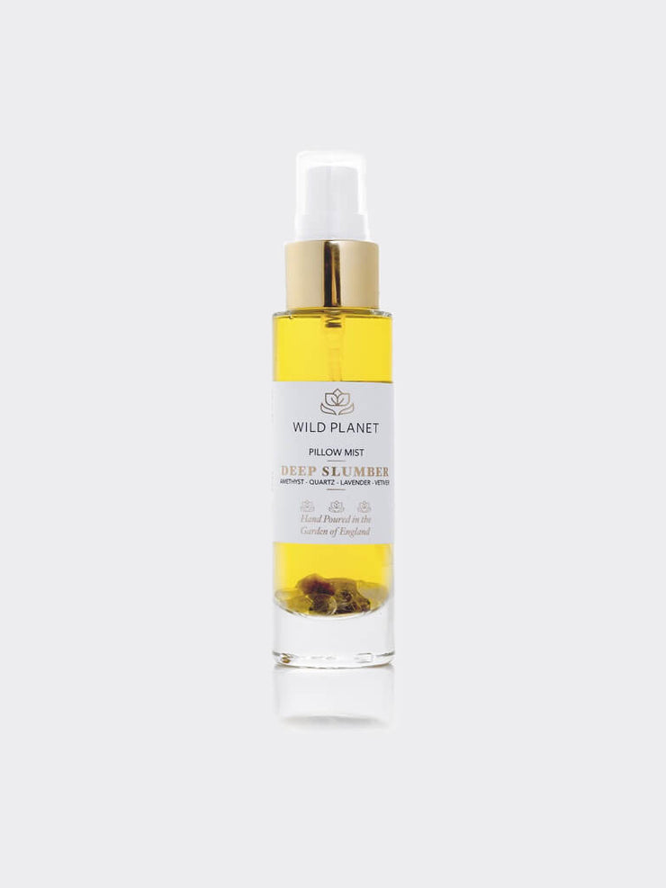 Deep Slumber - Amethyst Crystal Infused Pillow Mist - Wild Planet - £17.00