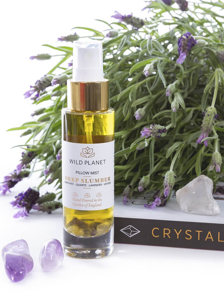 Deep Slumber - Amethyst Crystal Infused Pillow Mist