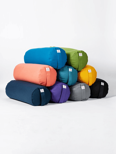 Organic Cotton Buckwheat Bolster - Ekotex Yoga - £38.00
