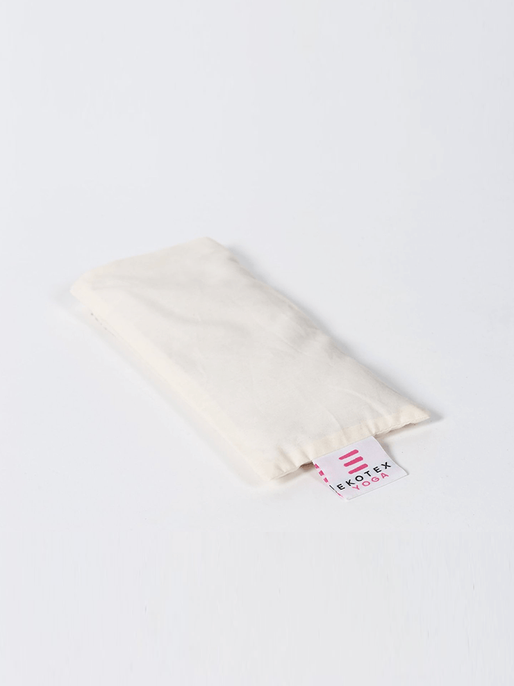 Organic Cotton Eye Mask - Flaxseed & Dry Lavender - Ekotex Yoga - £6.88