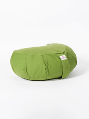 Organic Cotton Crescent Meditation Cushion - Ekotex Yoga - £28.15
