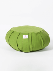Organic Cotton Round Meditation Cushion - Ekotex Yoga - £28.15