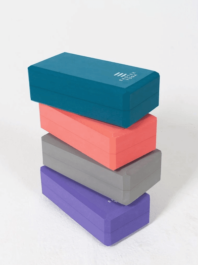 Ekotex Yoga Yoga Blocks & Bricks Recycled Foam Yoga Brick