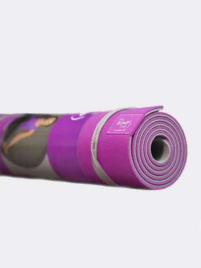 Ekotex Yoga Yoga Mats Purple The BUMP Mat by Tara Lee