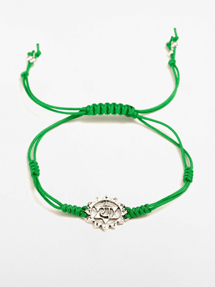 Eternal Bliss Spiritual bracelets Green Heart Chakra Bracelet - Green