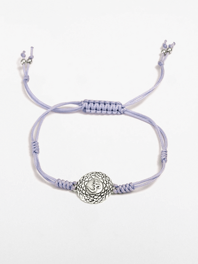 Eternal Bliss Spiritual bracelets Purple Crown Chakra Bracelet - Pale Lilac