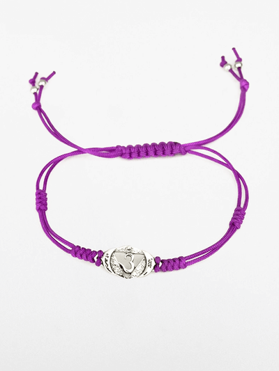 Eternal Bliss Spiritual bracelets Purple Third Eye Chakra Bracelet - Violet