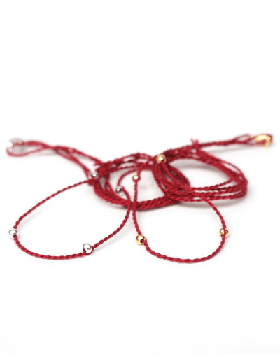 Chakra Necklace Pendant Cord - Garnet Red - Eternal Bliss - £20.00