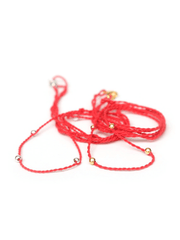 Eternal Bliss Spiritual necklaces Chakra Necklace Pendant Cord - Poppy Red