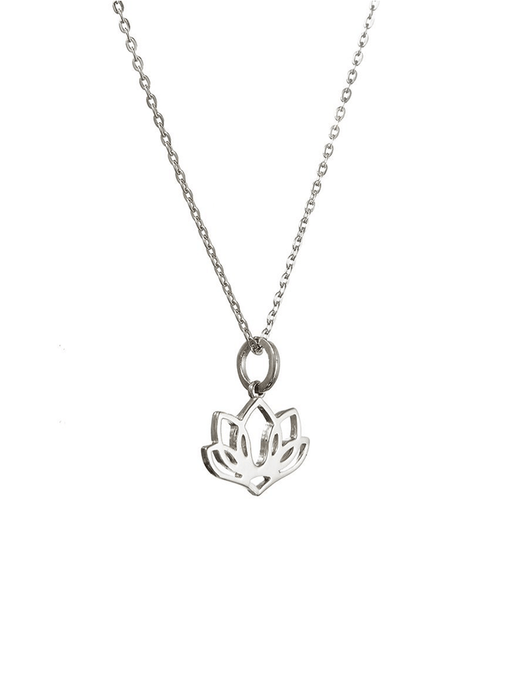 Eternal Bliss Spiritual necklaces Five Leaf Lotus Pendant