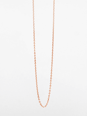 Glossy Anchor Chain Necklace - Eternal Bliss - £37.00