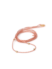 Chakra Necklace Pendant Cord - Terracotta - Eternal Bliss - £24.00
