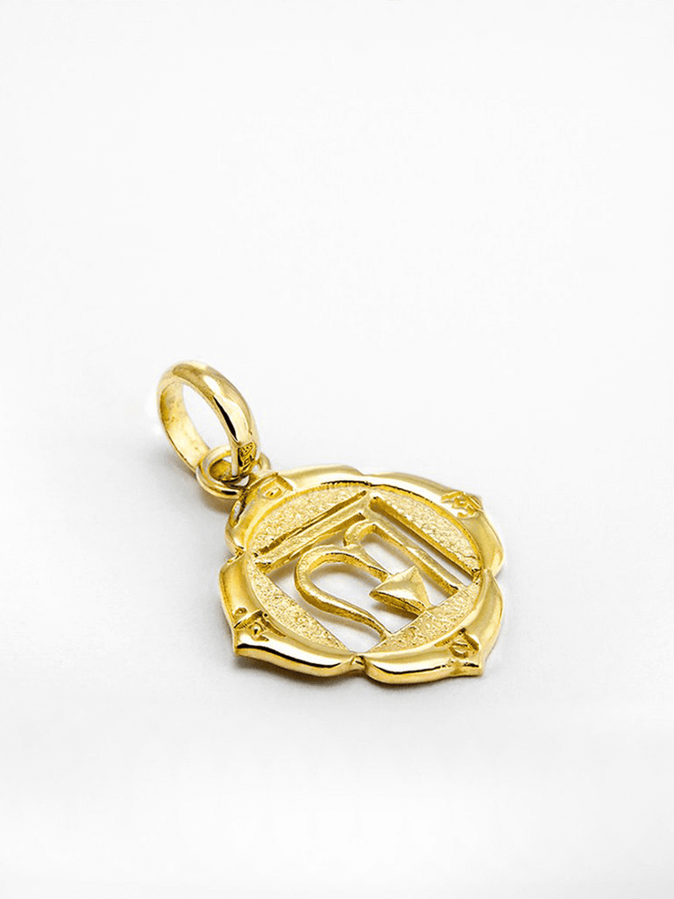 Eternal Bliss Spiritual necklaces Gold Root Chakra Pendant - Gold