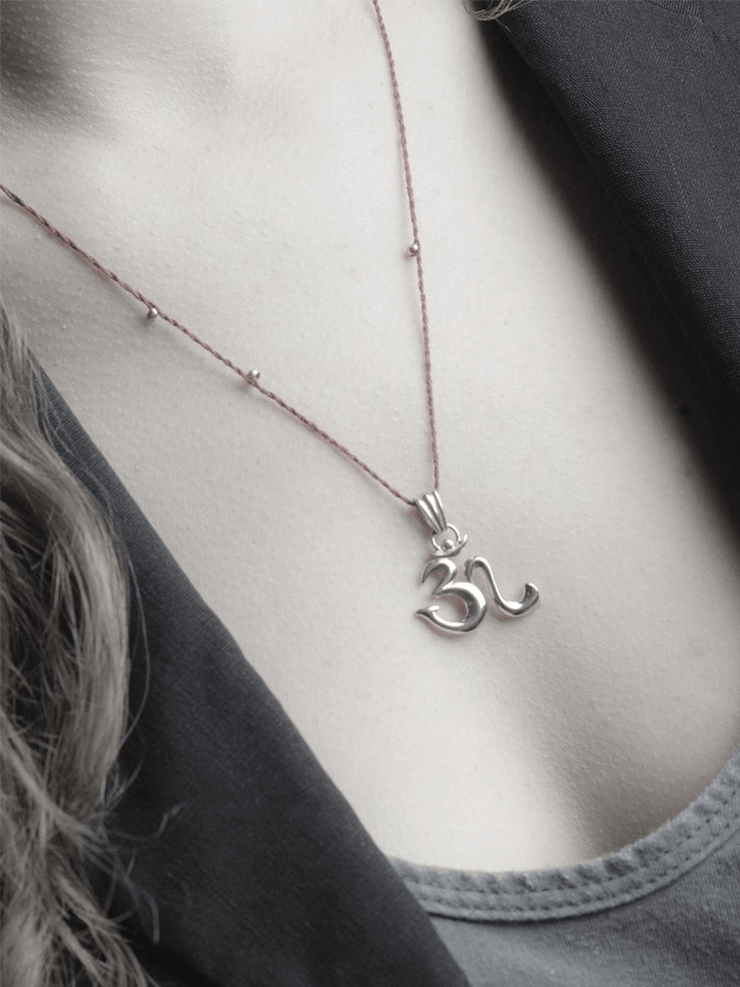 Eternal Bliss Spiritual necklaces OM Pendant