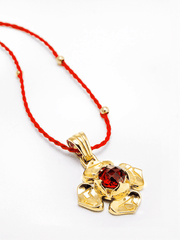Eternal Bliss Spiritual necklaces Root Chakra with Garnet Pendant
