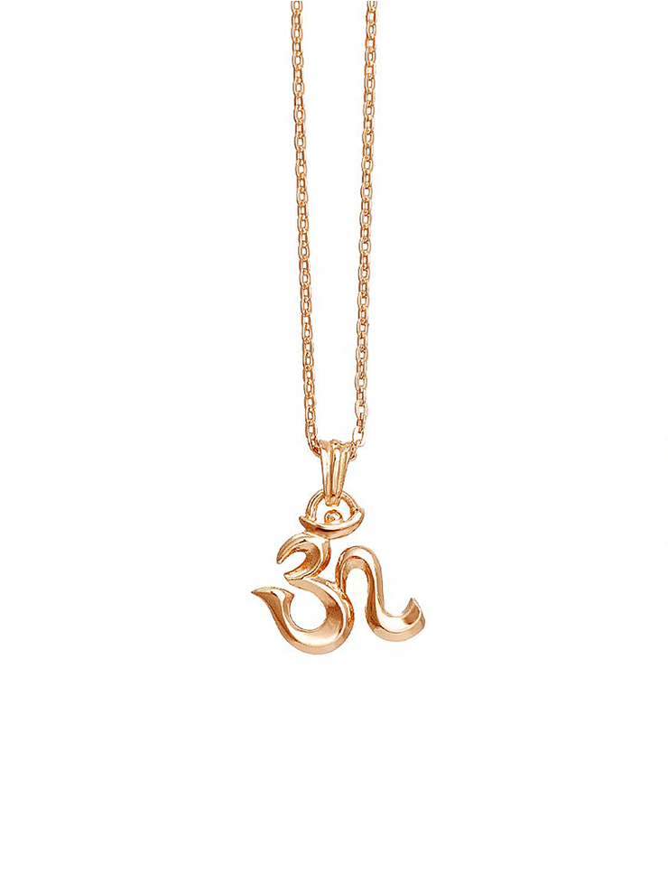 Eternal Bliss Spiritual necklaces Rose Gold OM Mini Pendant